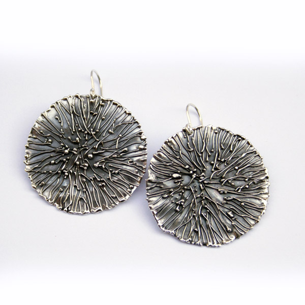 fused earrings