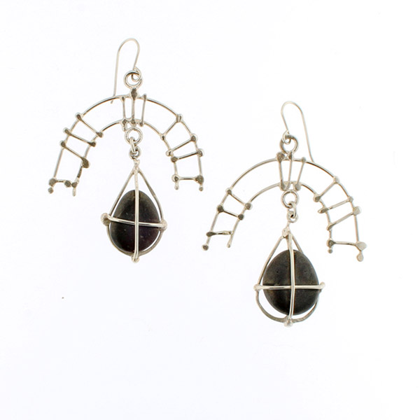 stone series earrings